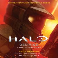 Cover image for Oblivion: a master chief story