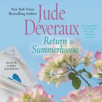 Cover image for Return to summerhouse