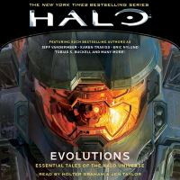 Cover image for Halo : evolutions [sound recording CD] : essential tales of the Halo universe