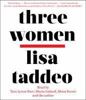 Cover image for Three women [sound recording CD]