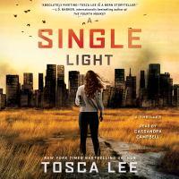 Cover image for A single light A Novel.