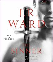 Imagen de portada para The sinner. bk. 18 [sound recording CD] : Black Dagger Brotherhood series