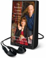 Cover image for The rainbow comes and goes [Playaway] : a mother and son on life, love, and loss