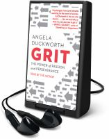 Cover image for Grit [Playaway] : the power of passion and perseverance