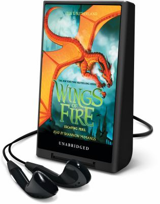 Cover image for Escaping peril. bk. 8 [Playaway] : Wings of fire series