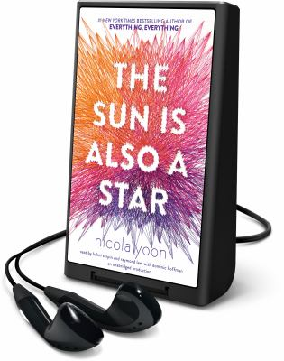 Cover image for The sun is also a star [Playaway]