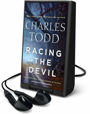 Cover image for Racing the devil. bk. 19 [Playaway] : Ian Rutledge series
