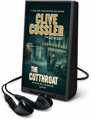 Cover image for The cutthroat. bk. 10 [Playaway] : Isaac Bell series