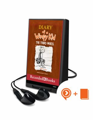 Cover image for Diary of a wimpy kid [Playaway]. bk. 7 : The third wheel