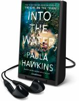 Cover image for Into the water [Playaway]