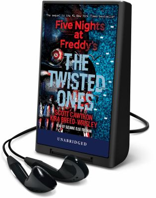Cover image for The twisted ones. bk. 2 [Playaway] : Five nights at Freddy's series