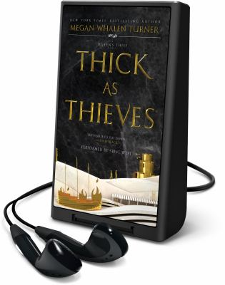 Cover image for Thick as thieves. bk. 5 [Playaway] : Queen's thief series