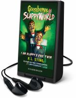 Cover image for I am Slappy's evil twin. bk. 3 [Playaway] : Goosebumps SlappyWorld series