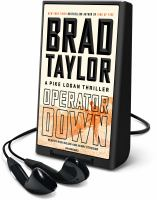 Cover image for Operator down. bk. 12 [Playaway] : Pike Logan series