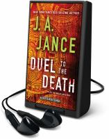 Cover image for Duel to the death. bk. 13 [Playaway] : Ali Reynolds series