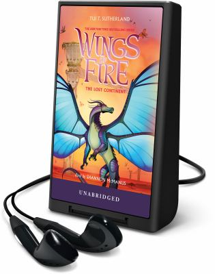 Cover image for The lost continent. bk. 11 [Playaway] : Wings of fire series