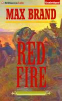 Cover image for Red fire : a western trio [sound recording CD]