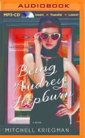 Cover image for Being Audrey Hepburn [sound recording MP3]