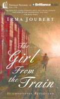 Cover image for The girl from the train [sound recording CD]
