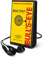Cover image for Bull's eye [Playaway] : the power of focus