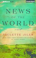 Imagen de portada para News of the world [sound recording CD] : a novel