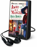Cover image for Away in a manger. bk. 15 [Playaway] : Molly Murphy mystery series
