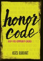 Cover image for Honor code