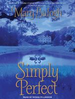 Cover image for Simply perfect