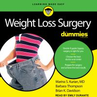 Cover image for Weight loss surgery for dummies 2nd edition