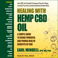 Cover image for Healing with Hemp CBD Oil a simple guide to using powerful and proven health benefits of CBD
