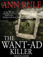 Cover image for The want-ad killer