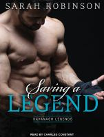 Cover image for Saving a legend