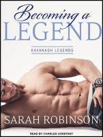 Cover image for Becoming a legend