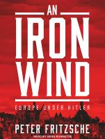 Cover image for An iron wind Europe Under Hitler.