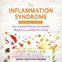 Cover image for The inflammation syndrome your nutrition plan for great health, weight loss, and pain-free living
