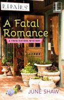 Cover image for A fatal romance