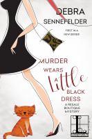 Cover image for Murder wears a little black dress
