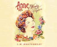 Cover image for Anne of Windy Poplars. bk. 4 [sound recording CD] Anne of Green Gables series
