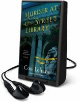 Cover image for Murder at the 42nd street library. bk. 1 [Playaway] : 42nd Street Library mystery series