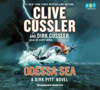 Cover image for Odessa sea. bk. 24 [sound recording CD] : Dirk Pitt adventure series