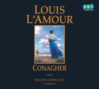 Cover image for Conagher [sound recording CD] : a novel