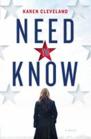 Cover image for Need to know : a novel