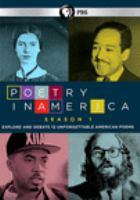 Imagen de portada para Poetry in America. Season 1 [videorecording DVD] : explore and debate 12 unforgettable American poems