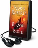 Cover image for Of blood and bone. bk. 2 [Playaway] : Chronicles of the One series