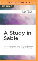 Cover image for A study in sable. bk. 12 [sound recording MP3] : Elemental masters series