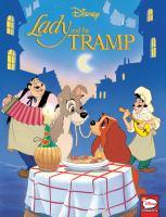 Imagen de portada para Lady and the Tramp [graphic novel] : Disney comics
