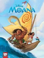 Imagen de portada para Moana [graphic novel] : Disney comics
