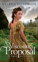 Cover image for A viscount's proposal. bk. 2 [sound recording CD] : Regency spies of London series