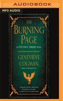 Imagen de portada para The burning page. bk. 3 [sound recording MP3] : Invisible library series