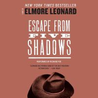 Cover image for Escape from Five Shadows [sound recording CD]